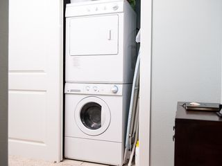 Lincoln City condo photo - Front Load Washer & Dryer