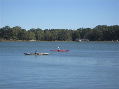 Enjoy boating on tributary of lower Chesapeake Bay !