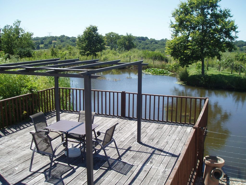 Le bou rural farmhouse with private heated outdoor for Heated garden swimming pools