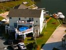 North Topsail Beach house photo - BOATER'S LAUNCH. 104 Bay Court. 2300+ sq ft. Boat Ramp.Heated Deck Pool.Hot Tub.