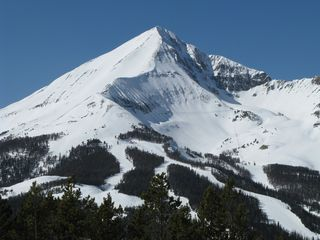 Big Sky condo photo - Lone Peak from Andesite Mt-Big Sky has plenty of terrain for all abilities.