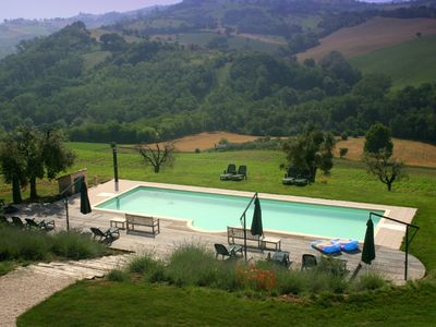 Heated pool in magnificent surroundings.