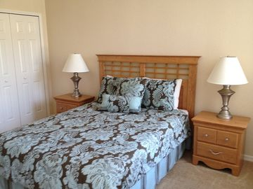 First Floor Master Queen Size Bedroom room with En-suite Full private bath.