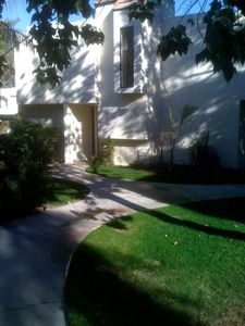 Palm Desert townhome rental - View of the outside of the townhouse