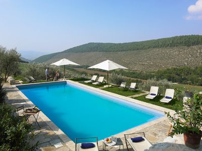 Pianciano-Ancient hamlet with spectacular view on countless olive trees - LA ROCCIA