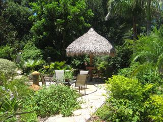 Sarasota house photo - Tropical Backyard with Tiki Hut