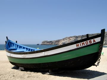 Nazare Fishing Boat