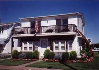 Brigantine house rental - Front view of duplex