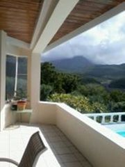 Montserrat villa photo - Mountain Views for Covered Balcony Deck