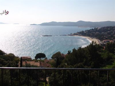 Le Lavandou/St-Clair - 6-11-person villa - Panoramic sea view - Pool