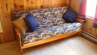 Lake Wallenpaupack house photo - New full size futon in kids' large bunk room