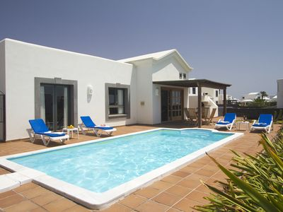 An exclusive luxury villa with private heated pool