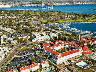 Coronado condo photo - Aerial View of Hotel Del Coronado and Surrounding Area