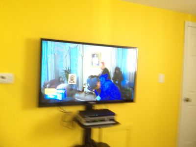 50 + inches plasma TV in each unit
