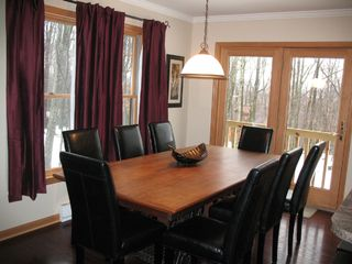 Swanton cabin photo - Dining Room