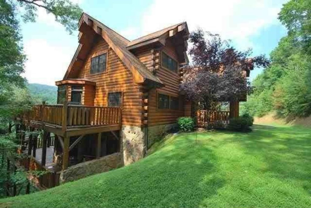 Huge Private Luxury Log Home Hot Tub Great Vrbo