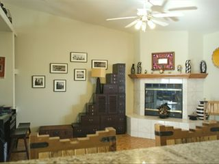 Pahrump villa photo - Fireplace