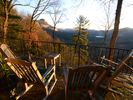 Veranda view looking east - Highlands house vacation rental photo