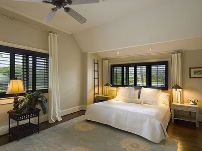 Master Bedroom with private full bath. Separate shower and tub.