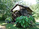 1800's Cabin with Hot Tub inside - Bryson City cabin vacation rental photo