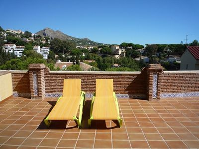 Malaga City apartment rental - P- Terrace ( Solarium).