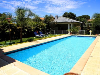 House 3 bedrooms, 2 bathrooms, 1 WC, garden, swimming pool and barbecue