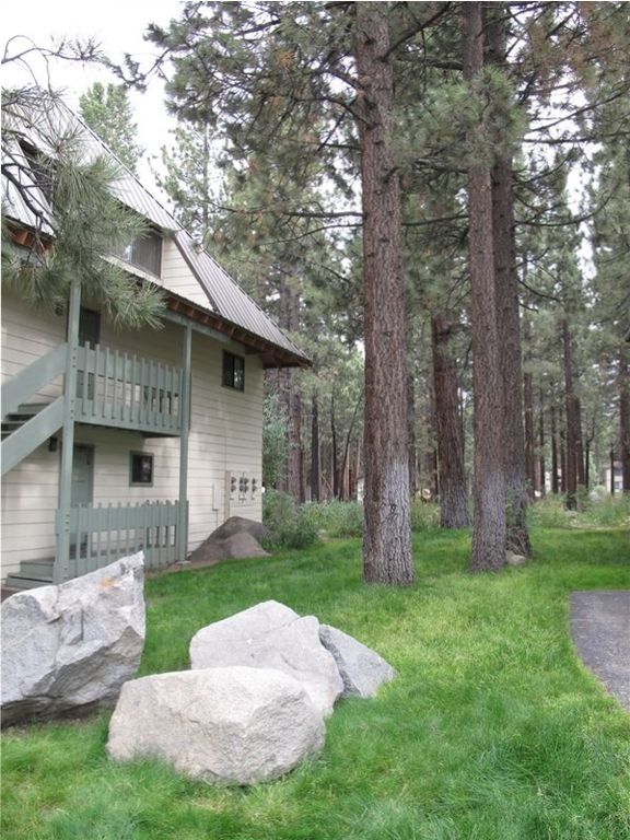 Mammoth Lakes condo rental - grassy area for kids to play and dogs to be walked