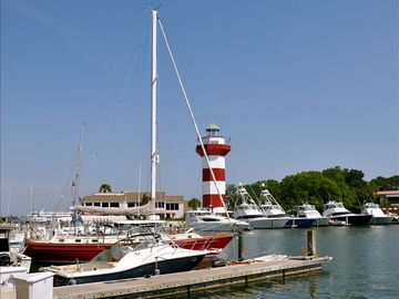 Harbour Town - Sailing, Boating, Shopping, Eating, Fun - a bike ride away!