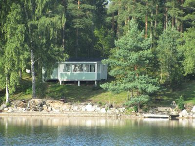 Cozy summer cottage by a lake