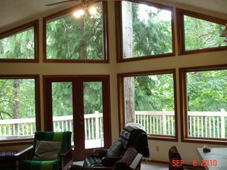 Kalama house photo - Great Room & Deck, unplug & RELAX!
