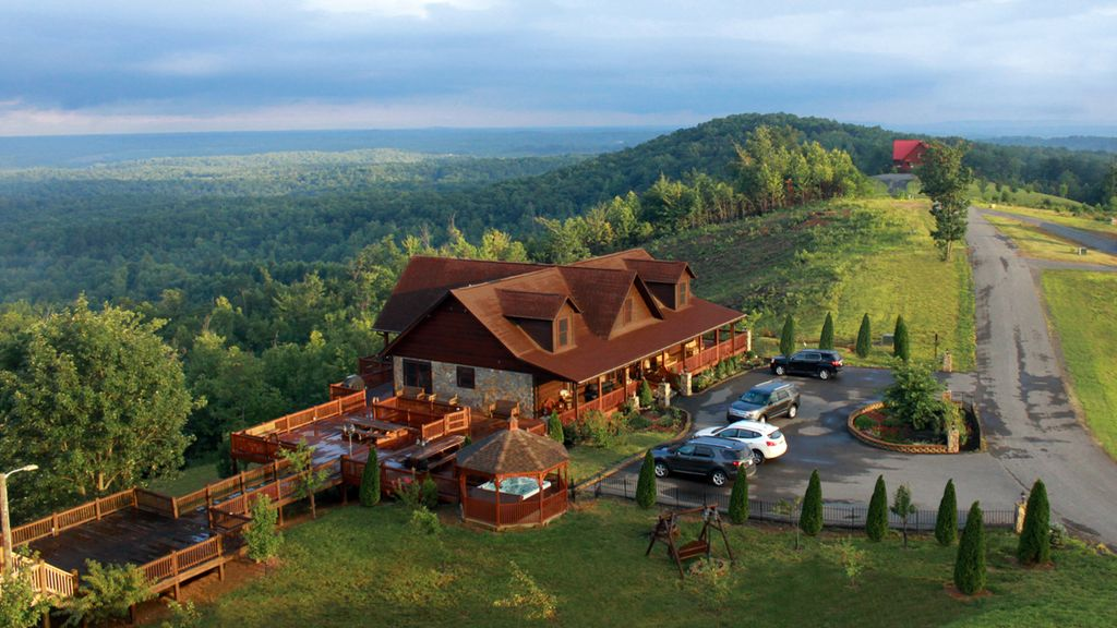 Luxury Cabin In Blue Ridge Mountains Vrbo