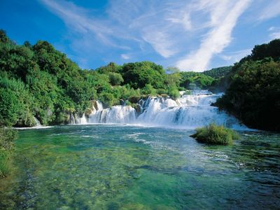 National park Krka, 60 km away
