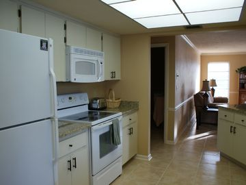 Kitchen - New Granite countertops & microwave