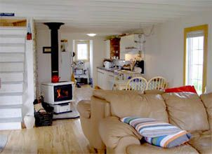 Twillingate cottage photo - Open concept