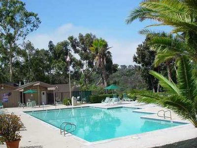 La Jolla townhome rental - One of 3 pools available