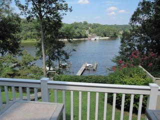 Annapolis house photo - Backyard, River View and Boat Dock from Deck