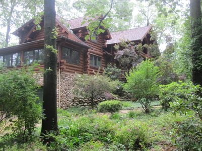 Beautiful wooded setting on an oversized lot with room for the kids to play.