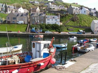 Gardenstown cottage rental - Gardenstown Harbour