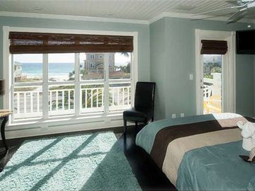 3rd Floor Bedroom Suite: Wake up with breathtaking views of the beach.