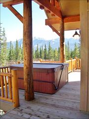 Big Sky townhome photo - Hot Tub & the View