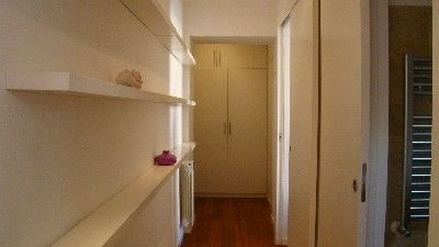 Termini area (Modern Centre) apartment rental - t the end of the corridor it is a big closet...not the main door.