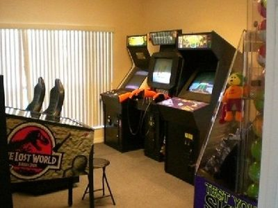 High Grove game room