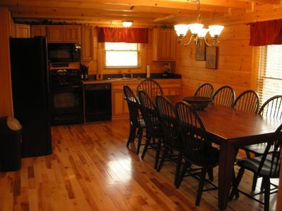 Fully Equipped Kitchen-Table Seating for 16 on Main Floor
