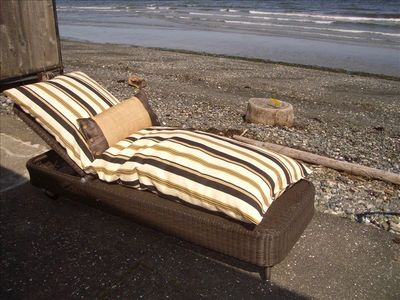 Lazy Summer Days at Qualicum Beach Cottage