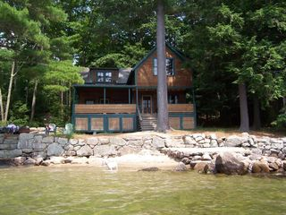 Newfound Lake cottage photo - Front of Cottage