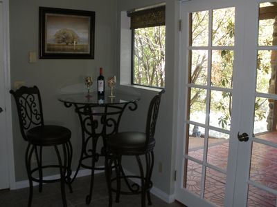 Sedona house rental - The Bistro Nook
