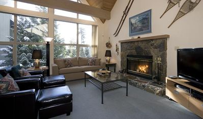 Snowgoose #13 | 4 Bedroom Townhome, Fireplace, Ski Home Access and Parking
