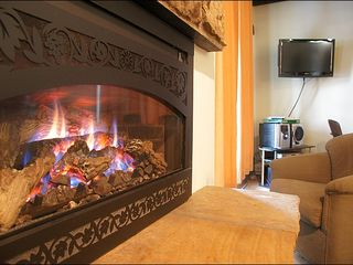 Steamboat Springs condo photo - Warm Your Toes by the New Fireplace