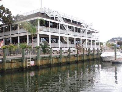 Yacht Club at Ocean Pines Marina -- enjoy lunch, dinner, or coffee with the view