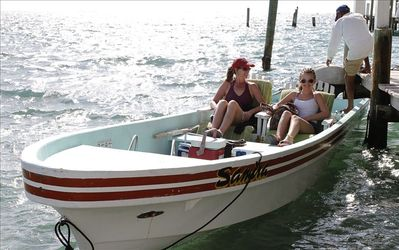 Mom & Daughter Head out for a day on da wata.